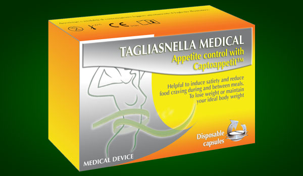 Tagliasnella Medical - Appetit control with Captoappetit™